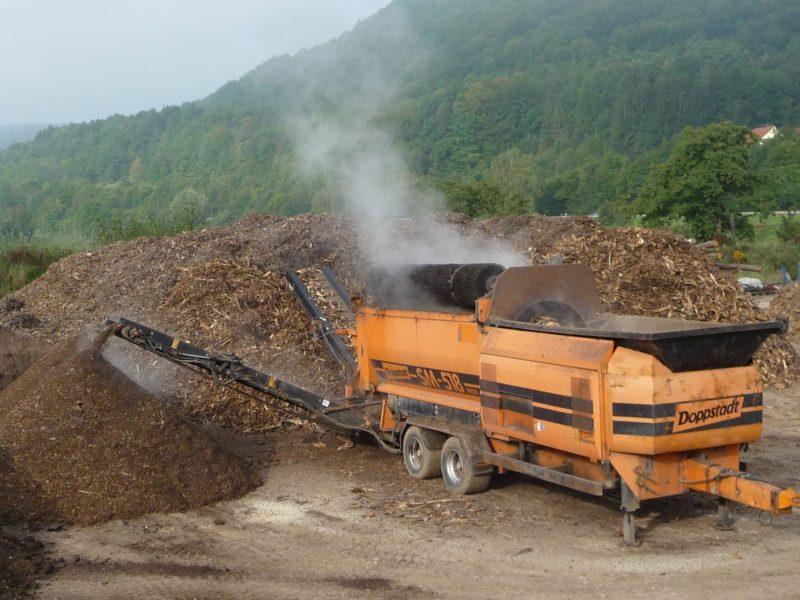 Kompostsieb Doppstadt SM 518